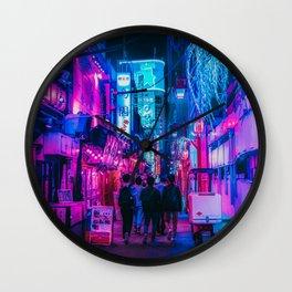Candy Floss Neon Wall Clock