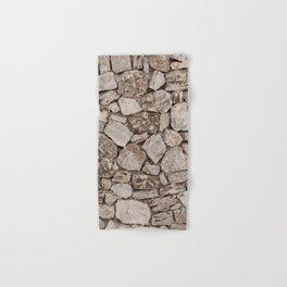 Old Rustic Stone Wall Hand & Bath Towel