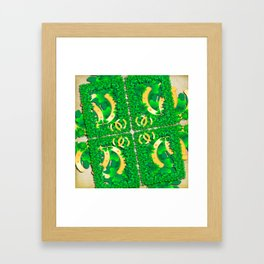 Wishing you lots of luck Framed Art Print