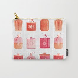 Flask Collection – Pink/Peach Ombré Palette Carry-All Pouch