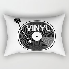 Vinyl Record Rectangular Pillow