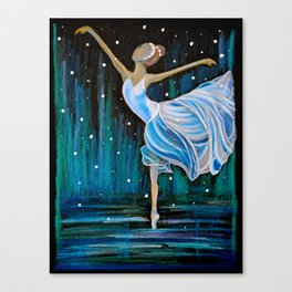 Waltz of the Snowflakes  Canvas Print
