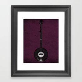 Banjo Beats Framed Art Print
