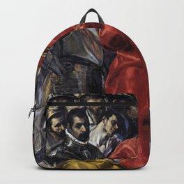 El Greco - The Disrobing of Christ Backpack