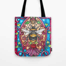Bee Royalty Tote Bag