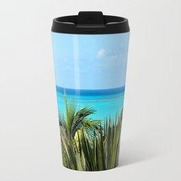 Wild Exotic Blue Paradise -Indian Ocean Seascape Travel Mug