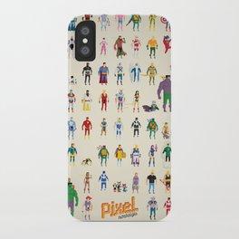 Pixel Nostalgia iPhone Case