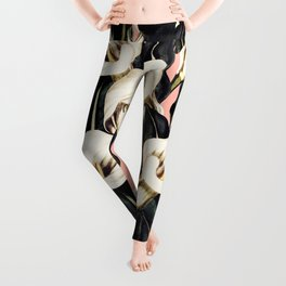 Pattern Calla lily flower Leggings