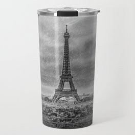 PARIS Eiffel Tower Thunderstorm Travel Mug