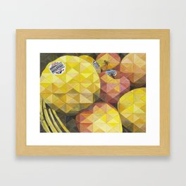 Manzanas, Apples Framed Art Print