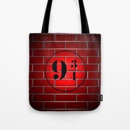 peron brick wall Tote Bag