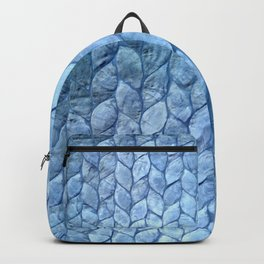 Ocean Blue Shell Backpack