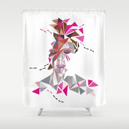 One May Become Stardust Shower Curtain