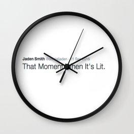 DEEP THOUGHT #5 Wall Clock