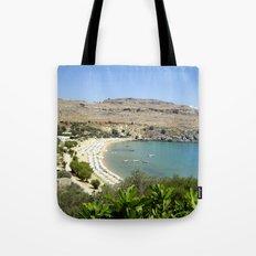 Rhodes, Greece Beach  Tote Bag