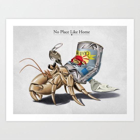 No Place Like Home Art Print