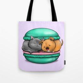 Macaron Cuddles Tote Bag