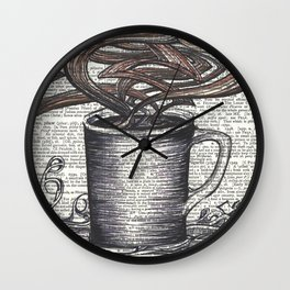 Waves of Roasted Goodness Wall Clock