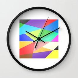 Deconstructivism Wall Clock