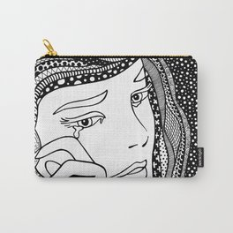 Crying girl. Roy Lichtenstein. Carry-All Pouch