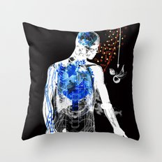 love and gravity version 34218 Throw Pillow