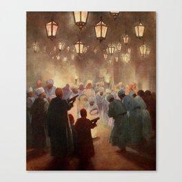 Kelly, Robert Talbot (1861-1934) - Egypt 1903, A Zikr Canvas Print