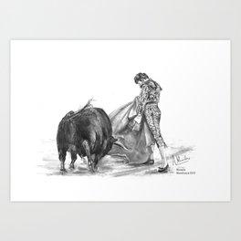 Morante (Maestranza, 2012) Art Print