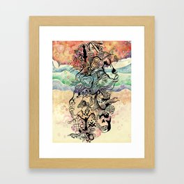 Zine Framed Art Print