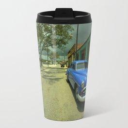 Vintage Plymouth at Cojimar Travel Mug