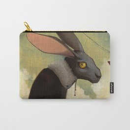Melancholic rabbit Carry-All Pouch