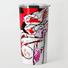'flower ornaments brittmarks' Travel Mug