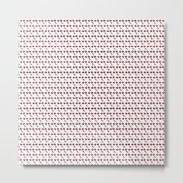 Cherry fruit pattern Metal Print