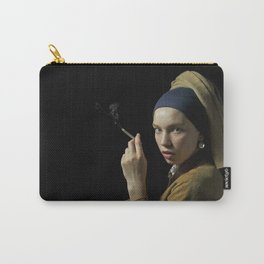 Girl with pearl earring - Ragazza col turbante Carry-All Pouch