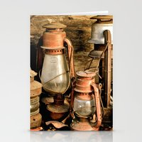 lanterns Stationery Cards featuring lanterns by Lisa Carpenter