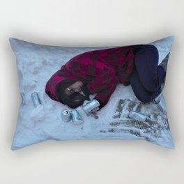 Alcoholism Rectangular Pillow