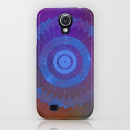 Technicolor Cosmos Blue iPhone Case