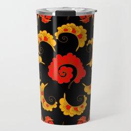 Traditional russian folk Travel Mug