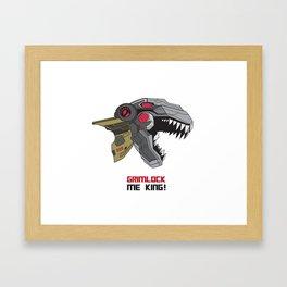 Grimlock Framed Art Print