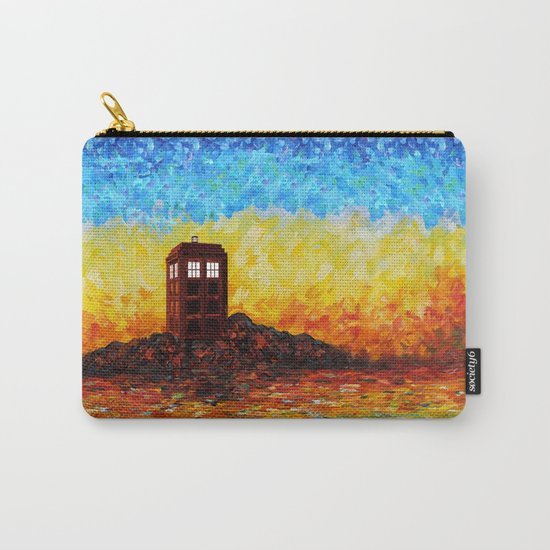 Tardis at the twilight zone iPhone 4 4s 5 5c 6, pillow case, mugs and tshirt Carry-All Pouch