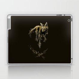 Amber Maned Wolf Laptop & iPad Skin