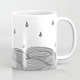 Rain and Sea Coffee Mug