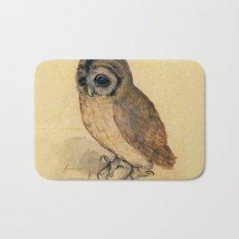 Albrecht Durer The Little Owl Bath Mat