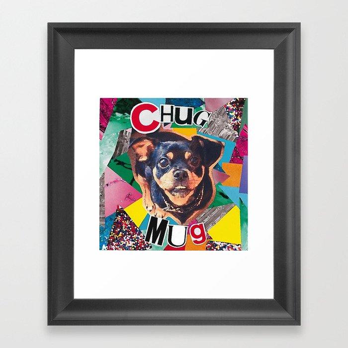 Chug Mug Framed Art Print