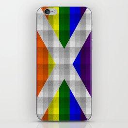 Saltire Duncarron Rainbow Plaid iPhone Skin
