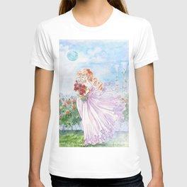Princess Serenity with Roses T-shirt