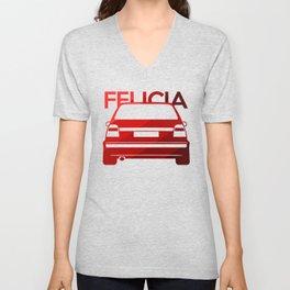 Skoda Felicia - classic red - Unisex V-Neck