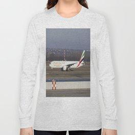 Emirates Boeing 777-300ER Long Sleeve T-shirt