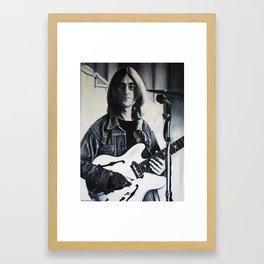 """""""YER BLUES Framed Art Print"""