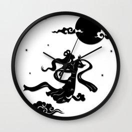 Chang Er flies to the Moon Wall Clock