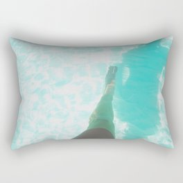 Step into Ocean Rectangular Pillow